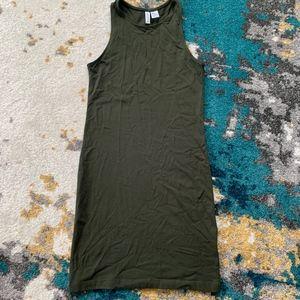 Divided H&M Dark Green Dress